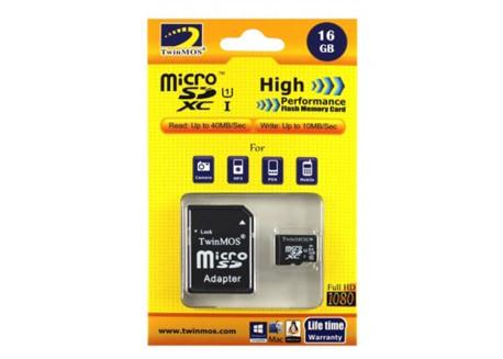 MicroSD TwinMOS 8GB [FCD8GBU-CLASS 10]