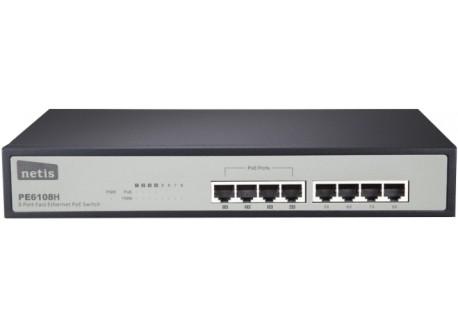 Netis PE6108H PoE Switch 8 Port (4 Ethernet / 4 Poe port)