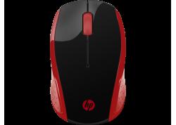 HP 200 Empress Red Wireless Mouse [2HU82AA]