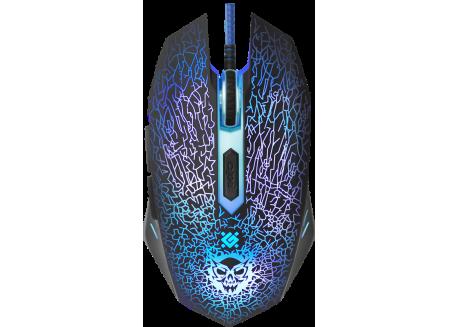 Gaming Mouse Defender Shock GM-110L [6 Button | 3200 DPI]