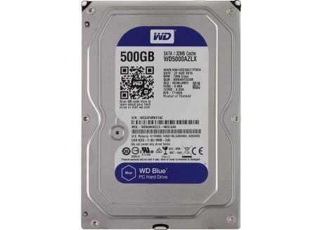 """WD Blue 500GB (WD5000AZLX) 7200 RPM 32MB Cache SATA 6.0Gb/s 3.5"""" Internal Hard Drive"""