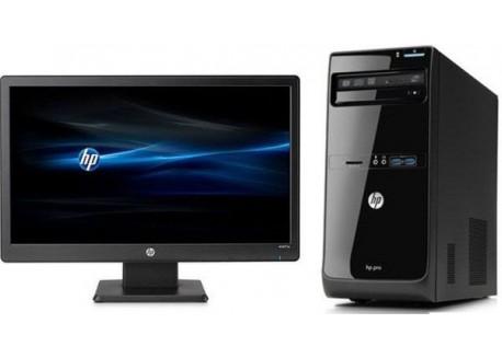 "HP Pro 3500G2MT [G9E13EA] [Intel Pentium G2030/DDR3 4GB/HDD 500GB/20"" HP W2072a]"