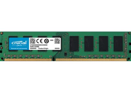 Crucial 8GB DDR3L-1600 UDIMM [CT102464BD160B]
